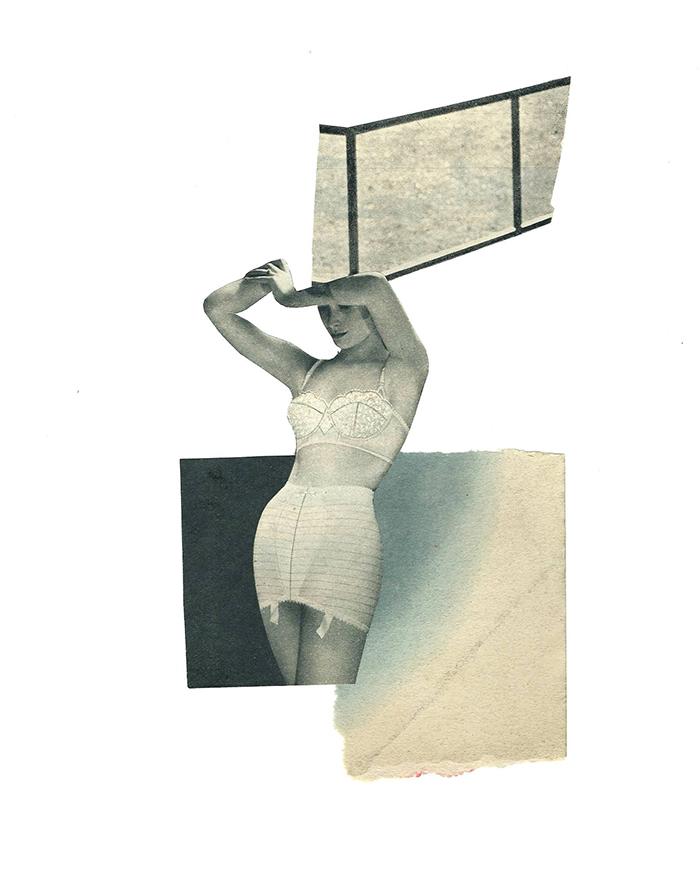 Reflejos - collage -marisamaestre