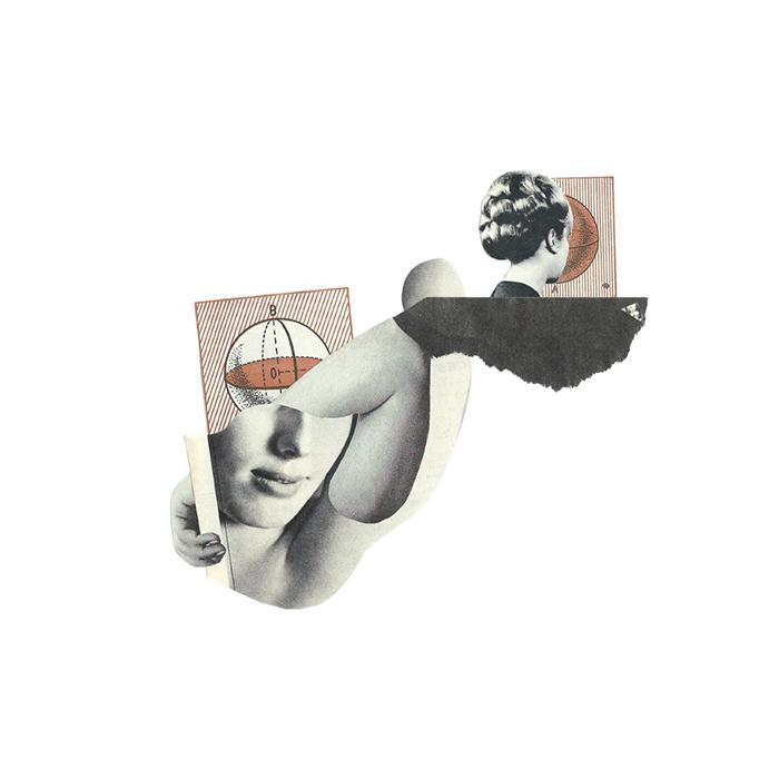 obsesión - collage - Marisa Maetre