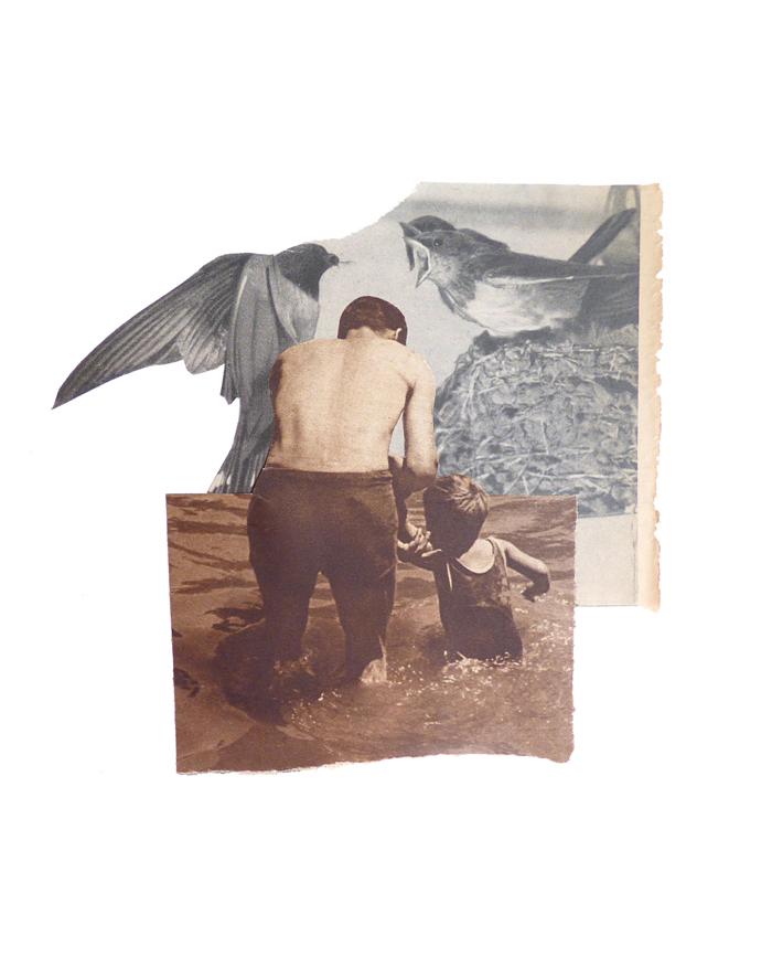 Crecer - collage - Marisa Maestre