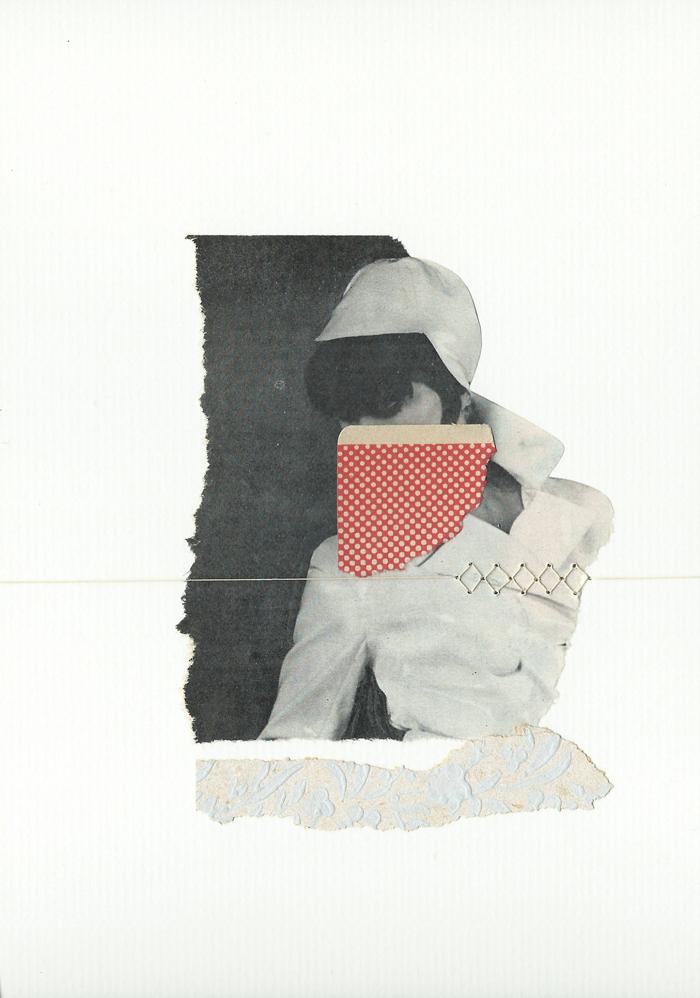 Te veo; me ves - collage - Marisa Maestre