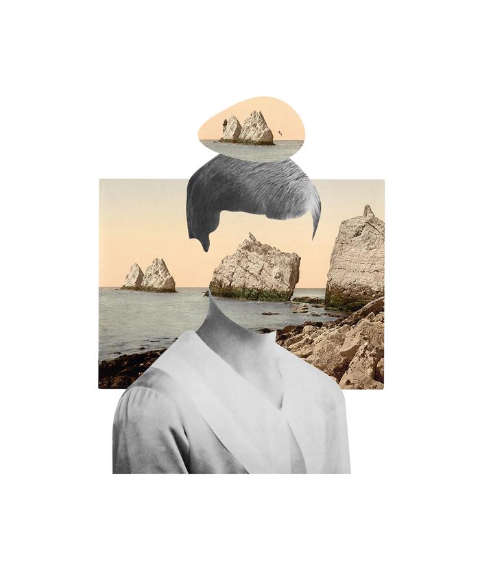 Mi medio - collage - Marisa Maestre