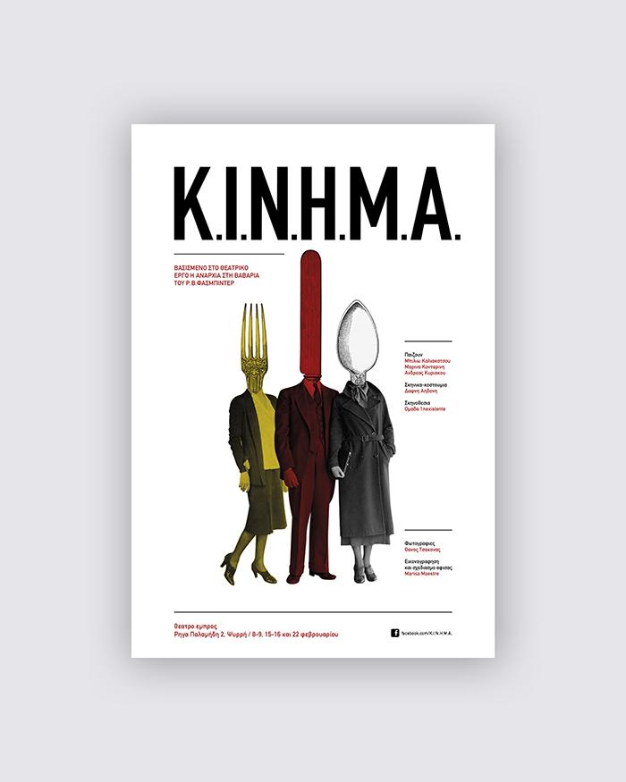KINHMA cartel teatro