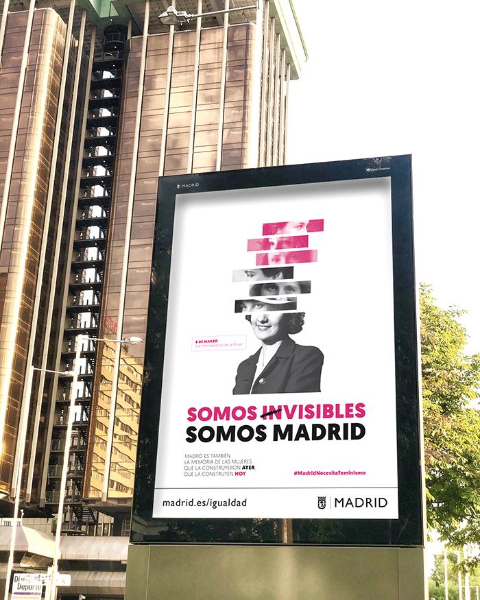 Campaña 8 de marzo Madrid