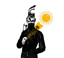 Ilustración y diseño de portada para el Libro «El camino hacia el sol»