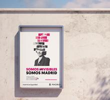 Ilustración y desarrollo de Campaña 8 de marzo 2017. Madrid
