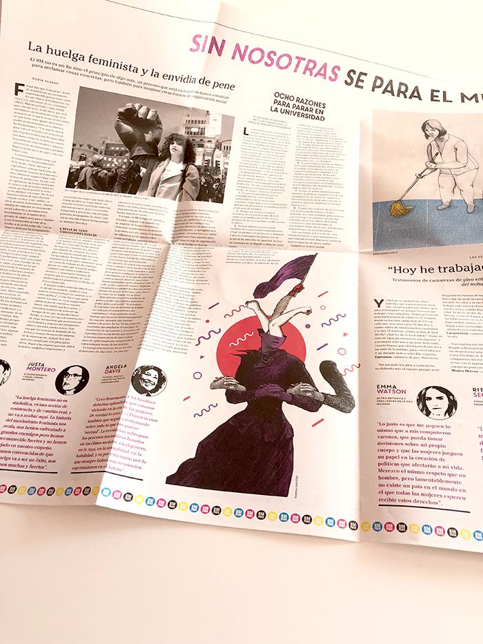 El Dobladillo CTXT especial 8 de marzo