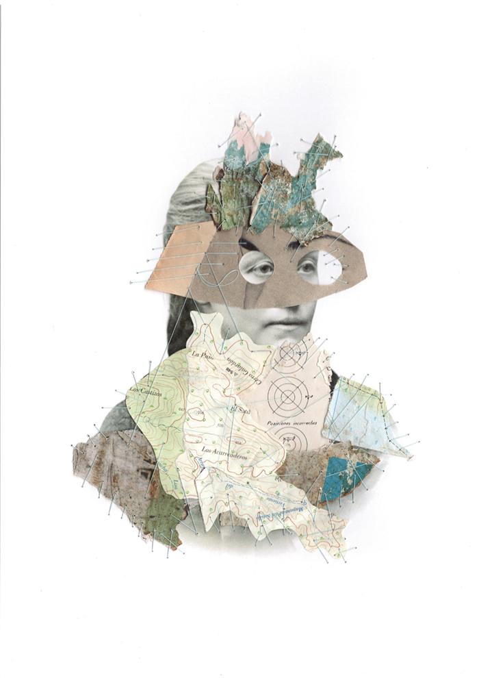Collage Art Misstopography II