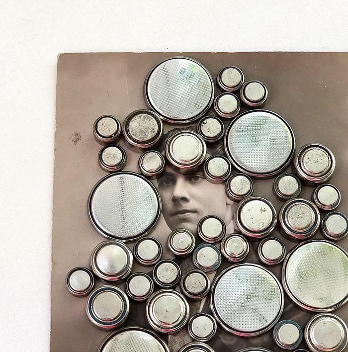 """Collages """"El increíble hombre cambiante"""""""