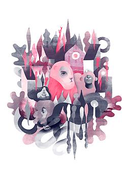 Ilustración realizada para Bealion
