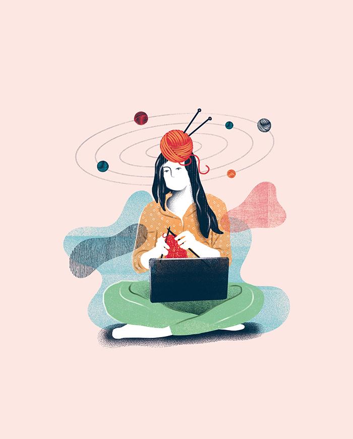 Ilustración digital Pepita Marín