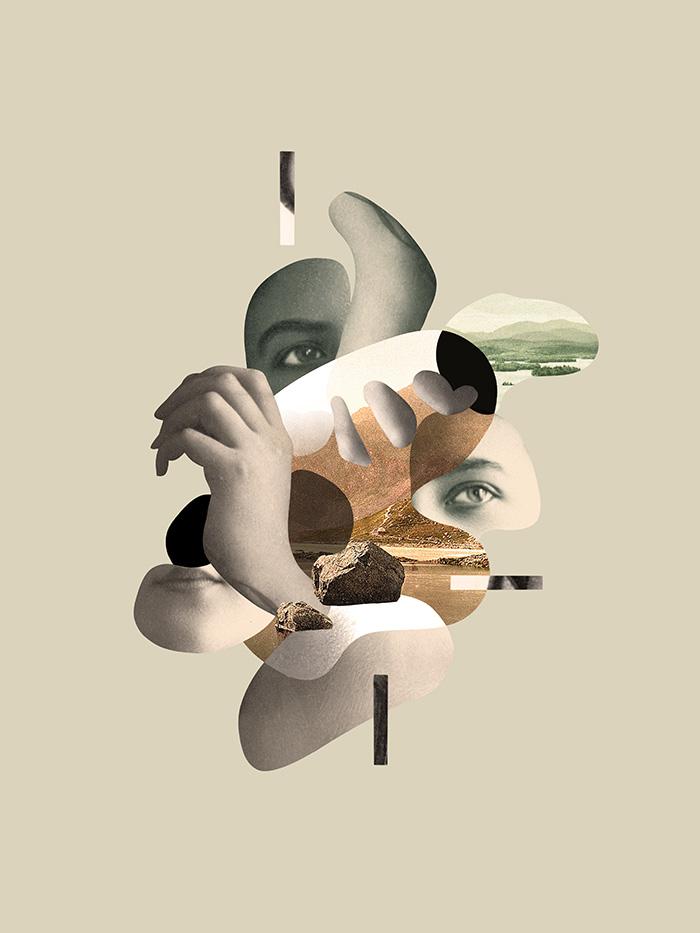 Collage digital, arte digital