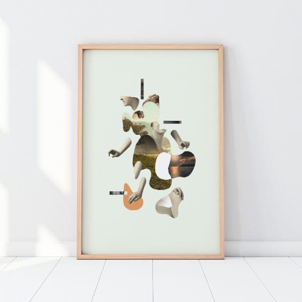 Digital art print